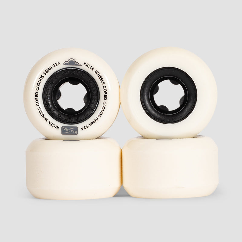 Ricta Cored Clouds 92a Wheels Black 56mm