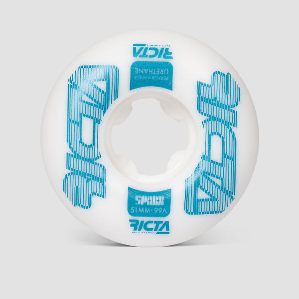 Ricta Framework Sparx 99a Wheels White 51mm
