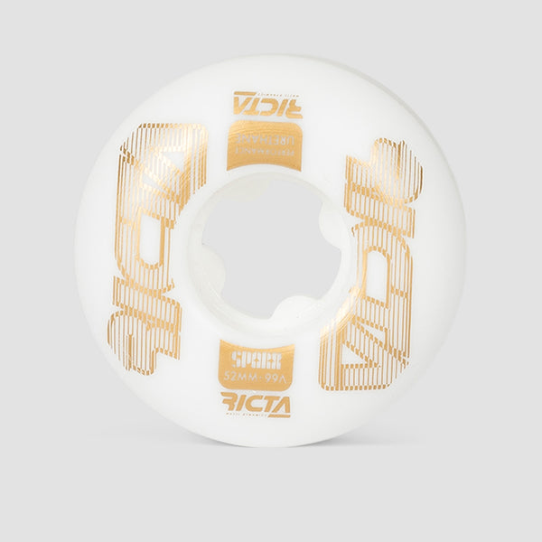 Ricta Framework Sparx 99a Wheels White 52mm