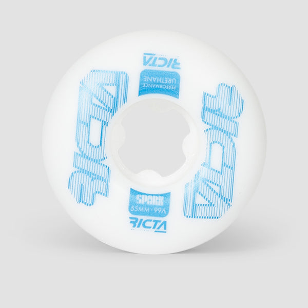 Ricta Framework Sparx 99a Wheels White 55mm