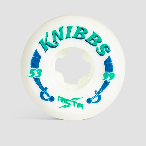 Ricta Jereme Knibbs Pro Wide 99a Wheels White 53mm