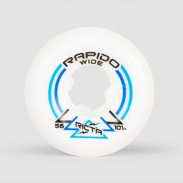 Ricta Rapido Wide 101a Wheels White 56mm