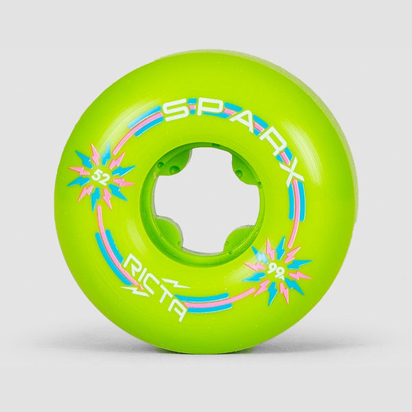 Ricta Sparx Mix Up 99a Wheels Blue/Green 52mm - Skateboard