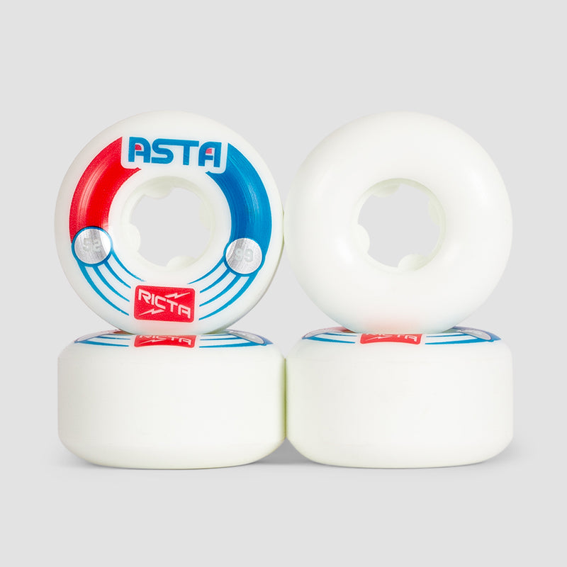 Ricta Tom Asta Pro Slim 99a Wheels White 52mm