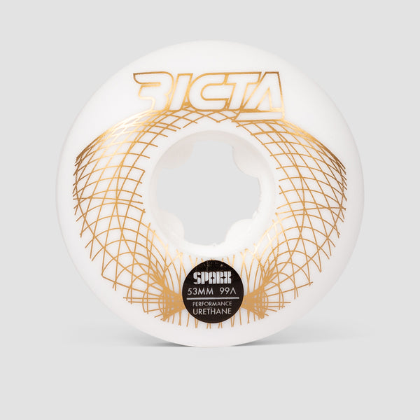 Ricta Wireframe Sparx 99a Wheels White 53mm
