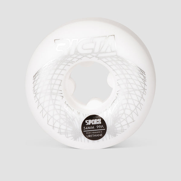 Ricta Wireframe Sparx 99a Wheels White 54mm