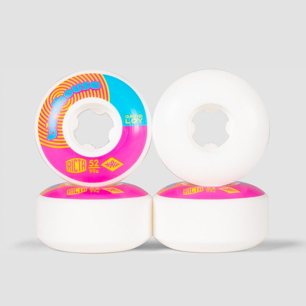 Ricta x Birdhouse Naturals David Loy 99a Wheels White 52mm - Skateboard