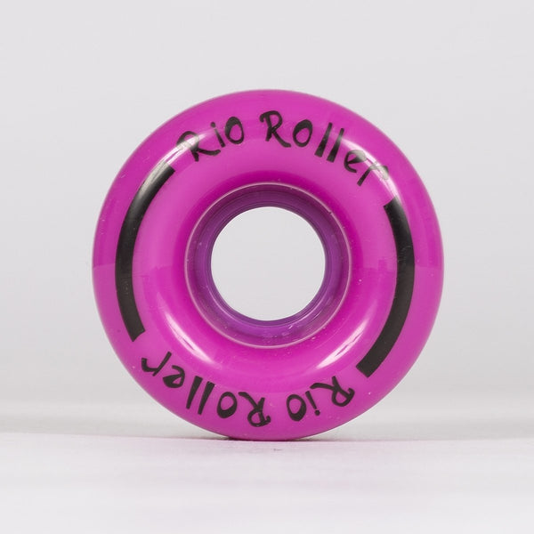 Rio Roller Coaster Wheels x4 Purple 62mm - Skates