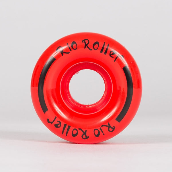 Rio Roller Coaster Wheels x4 Red 62mm - Skates