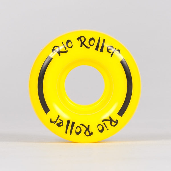 Rio Roller Coaster Wheels x4 Yellow 58mm - Skates