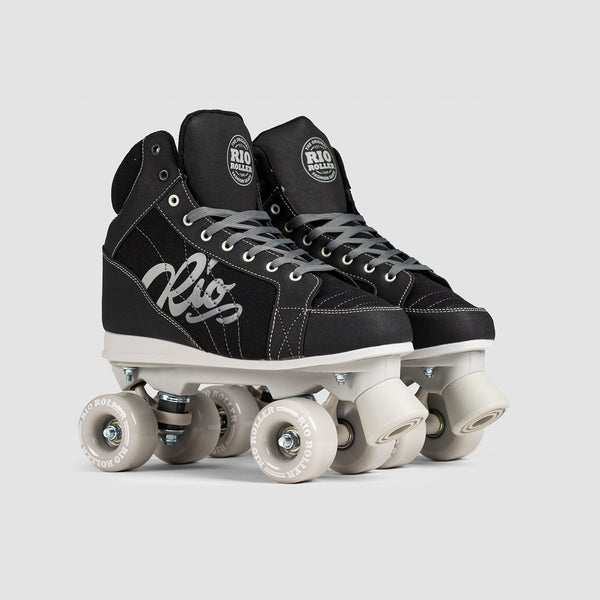 Rio Roller Lumina Quads Black/Grey - Unisex S