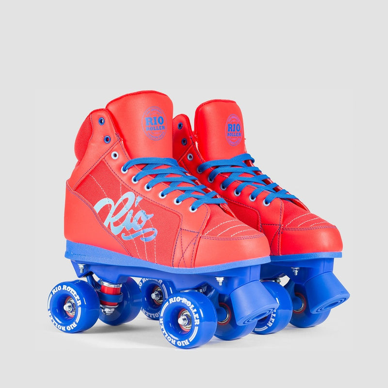 Rio Roller Lumina Quads Red/Blue - Kids - Skates