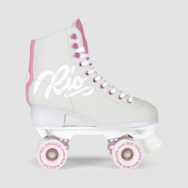 Rio Roller Script Quads Grey/Purple - Kids - Skates