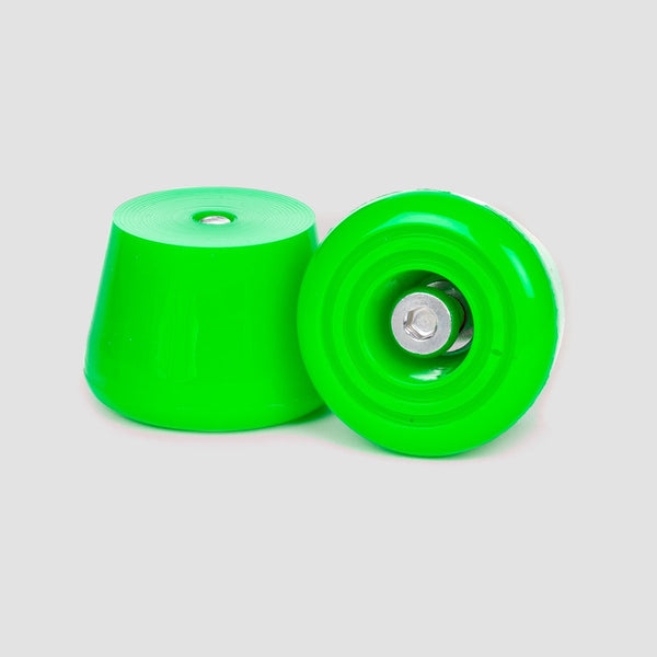 Rio Roller Toe Stoppers x2 Green - Skates