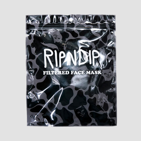 Ripndip Blackout Camo Ventilated Mask Black Camo