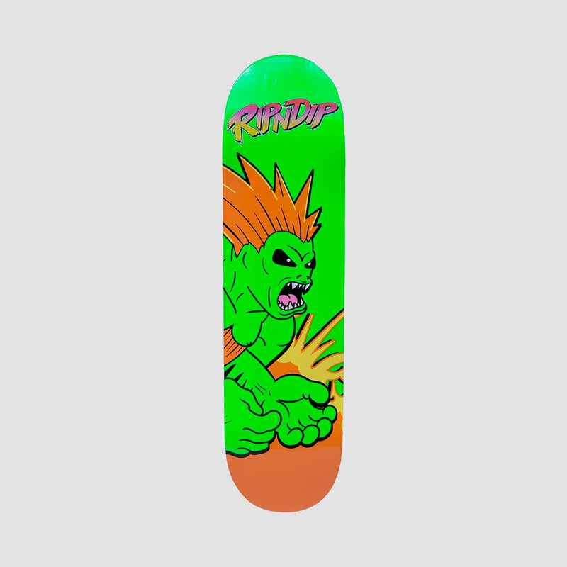 Ripndip Button Mash Deck Green - 8.5""