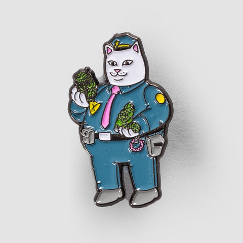 Ripndip Confiscated Pin