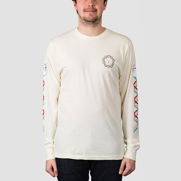 Ripndip DNA Long Sleeve Tee Natural