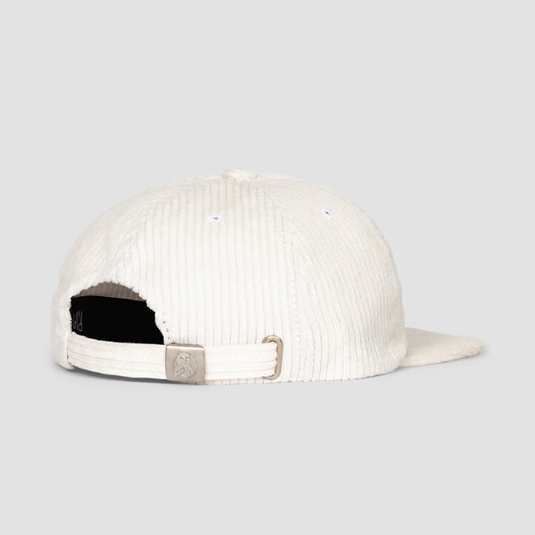 Ripndip Flaming Hot Corduroy Strapback Cap White