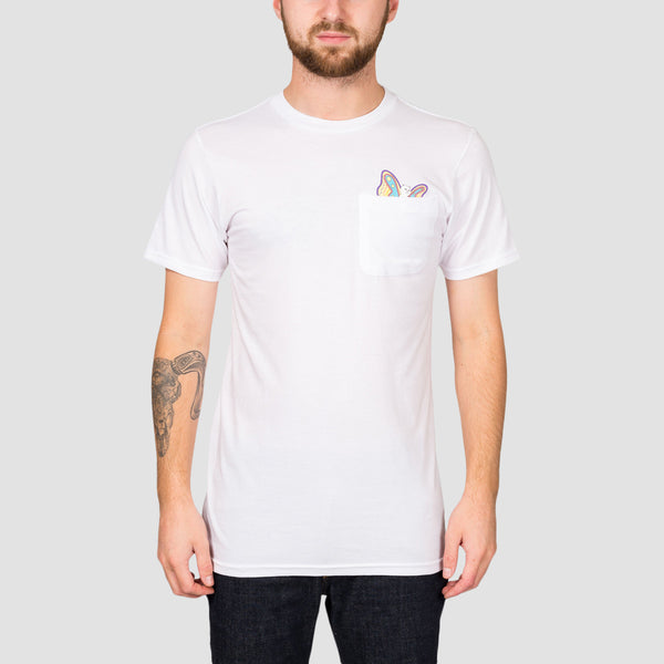 Ripndip Floating Pocket Tee White
