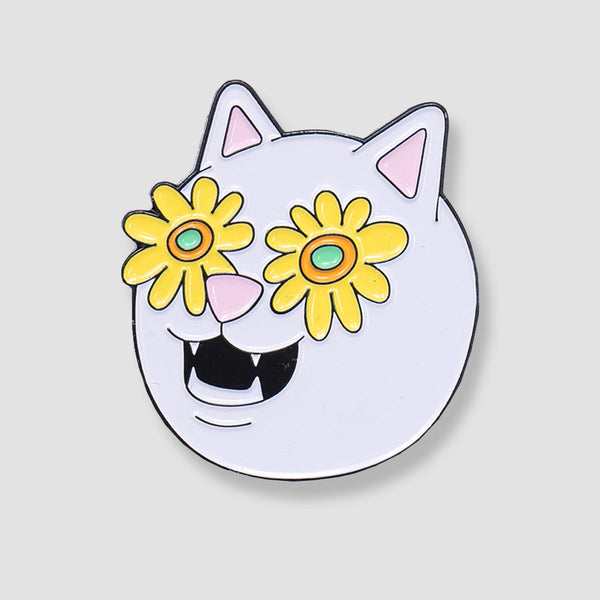 Ripndip Flower Belly Pin
