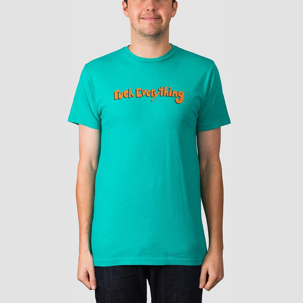 Ripndip Fuck Everything Tee Aqua - Clothing