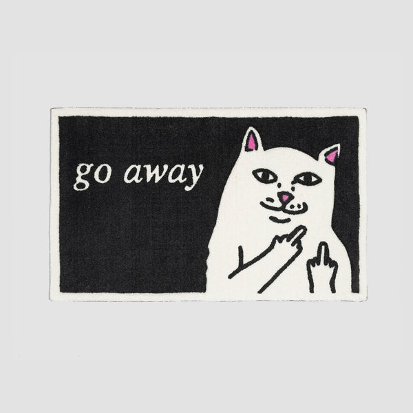 Ripndip Go Away Rug Black - Accessories