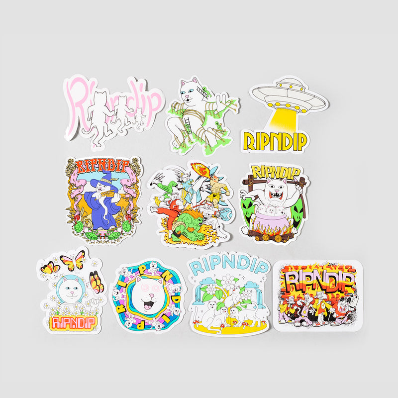 Ripndip Holiday 20 Sticker Pack Multi