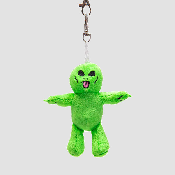 Ripndip Lord Alien Mini Plush Key Chain Green
