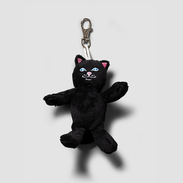 Ripndip Lord Jerm Mini Plush Keychain Black