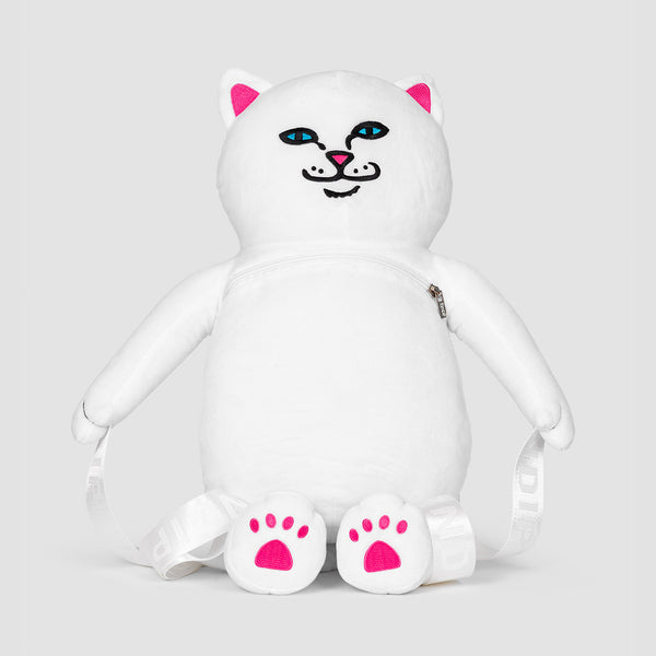 Ripndip Lord Nerm Plush 1L Backpack White