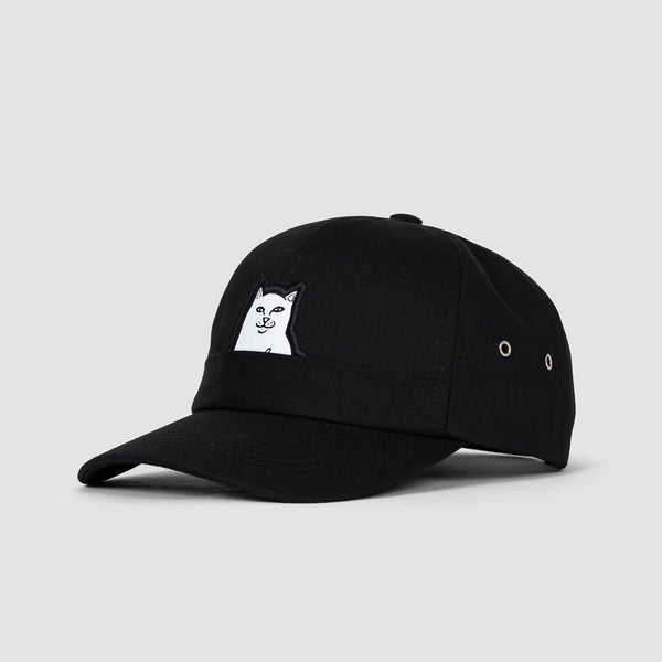 Ripndip Lord Nermal 6 Panel Cap Black