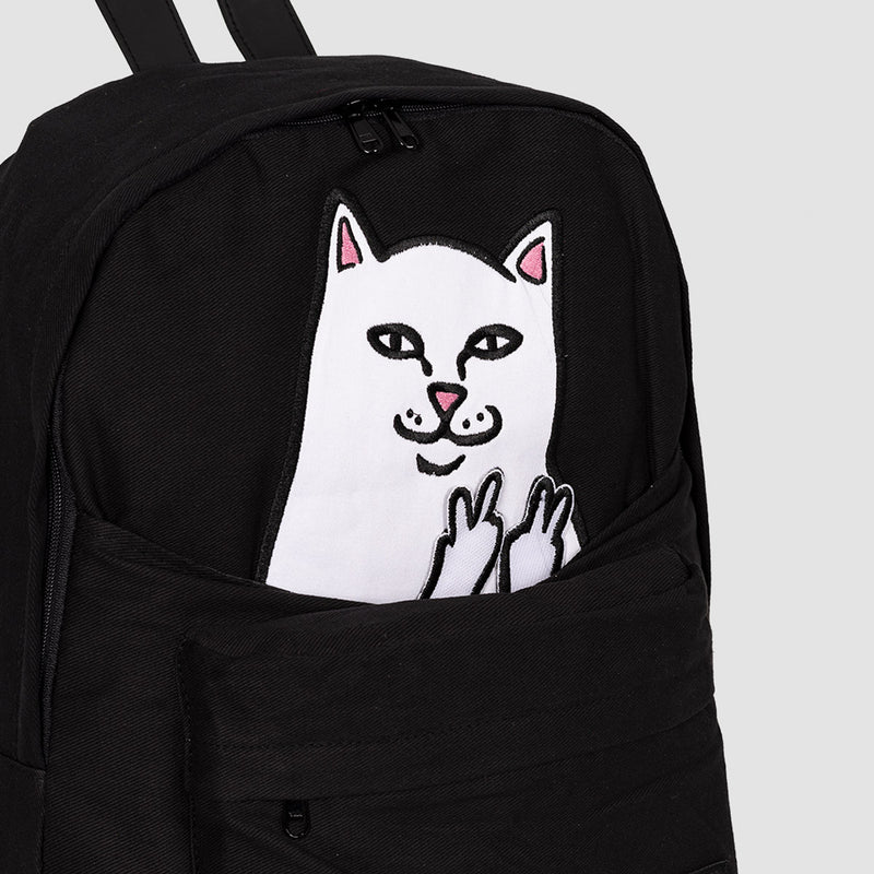 Ripndip Lord Nermal Backpack Black Cord