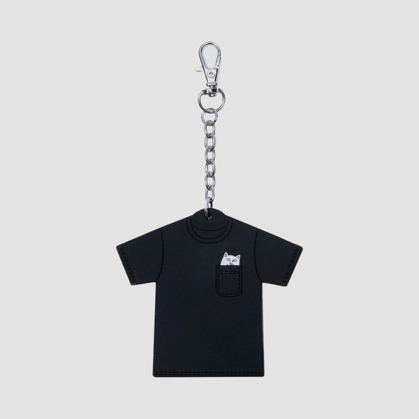 Ripndip Lord Nermal Mini Tee Key Chain Black