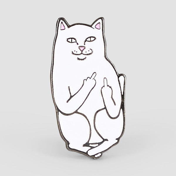 Ripndip Lord Nermal Pin White - Accessories