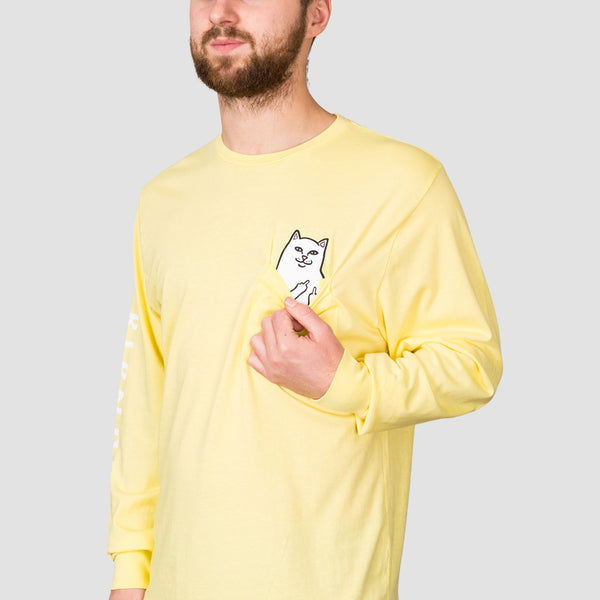 Ripndip Lord Nermal Pocket Longsleeve Tee Banana