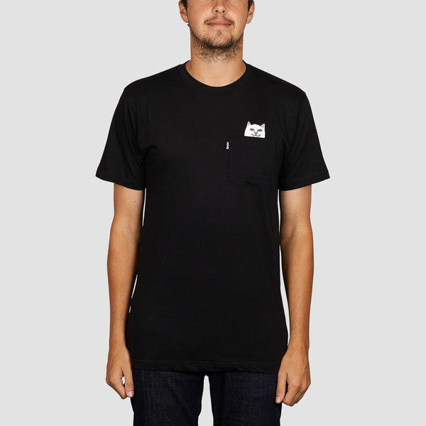 Ripndip Lord Nermal Pocket Tee Black - Clothing