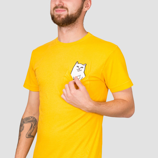 Ripndip Lord Nermal Pocket Tee Gold