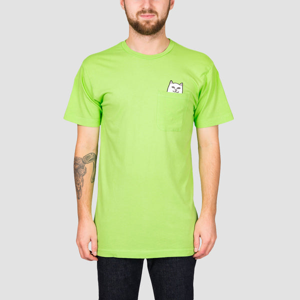 Ripndip Lord Nermal Pocket Tee Lime