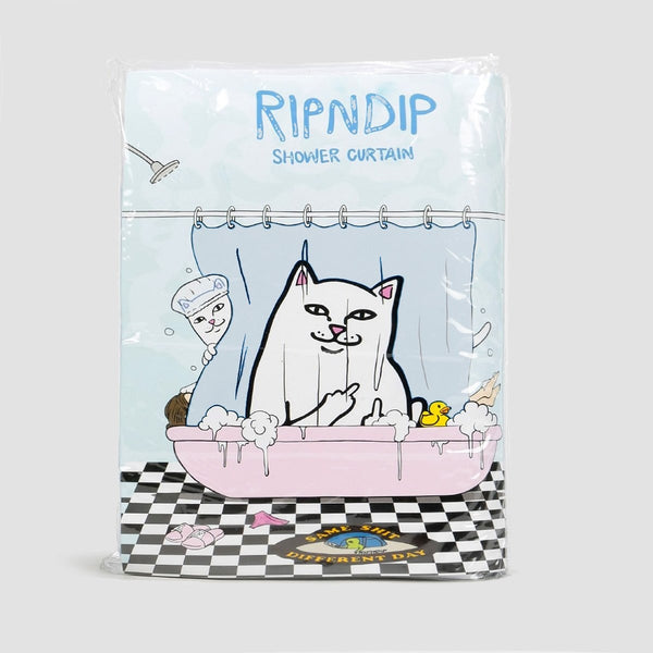 Ripndip Lord Nermal Shower Curtain Clear - Accessories