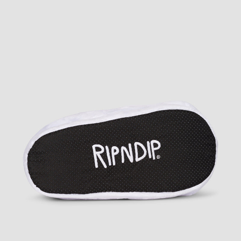 Ripndip Lord Nermal Slippers White - Unisex L