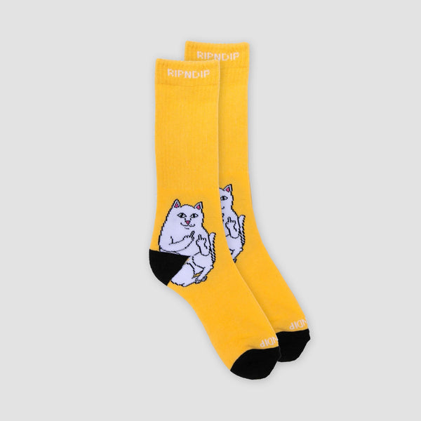 Ripndip Lord Nermal Socks Gold