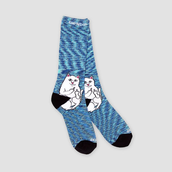 Ripndip Lord Nermal Socks Navy Speckle - Accessories