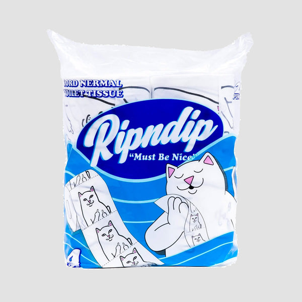 Ripndip Lord Nermal Toilet Paper White