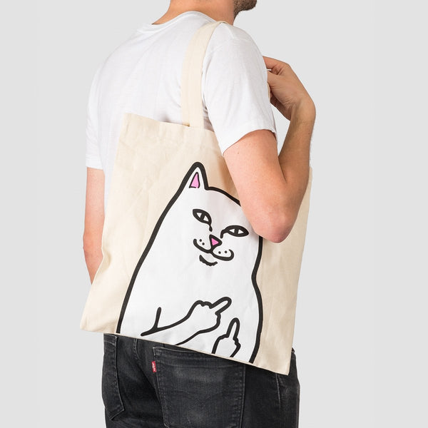 Ripndip Lord Nermal Tote Bag Natural - Unisex - Accessories
