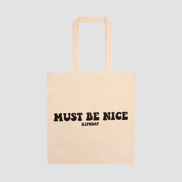 Ripndip My Little Nerm Tote Bag Natural- Unisex - Accessories