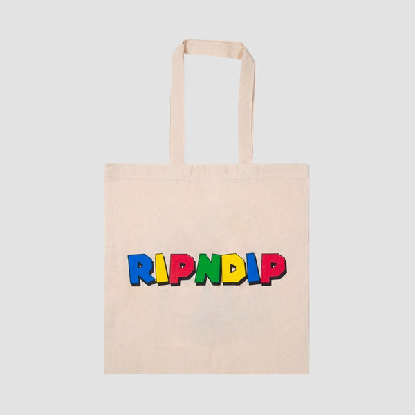 Ripndip Nermio Tote Bag Natural- Unisex - Accessories