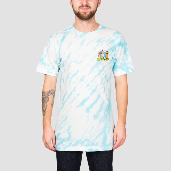 Ripndip No Place Like Home Tee Blue Stripe Tie Dye