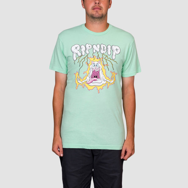 Ripndip Shocked Tee Mint Mineral Wash