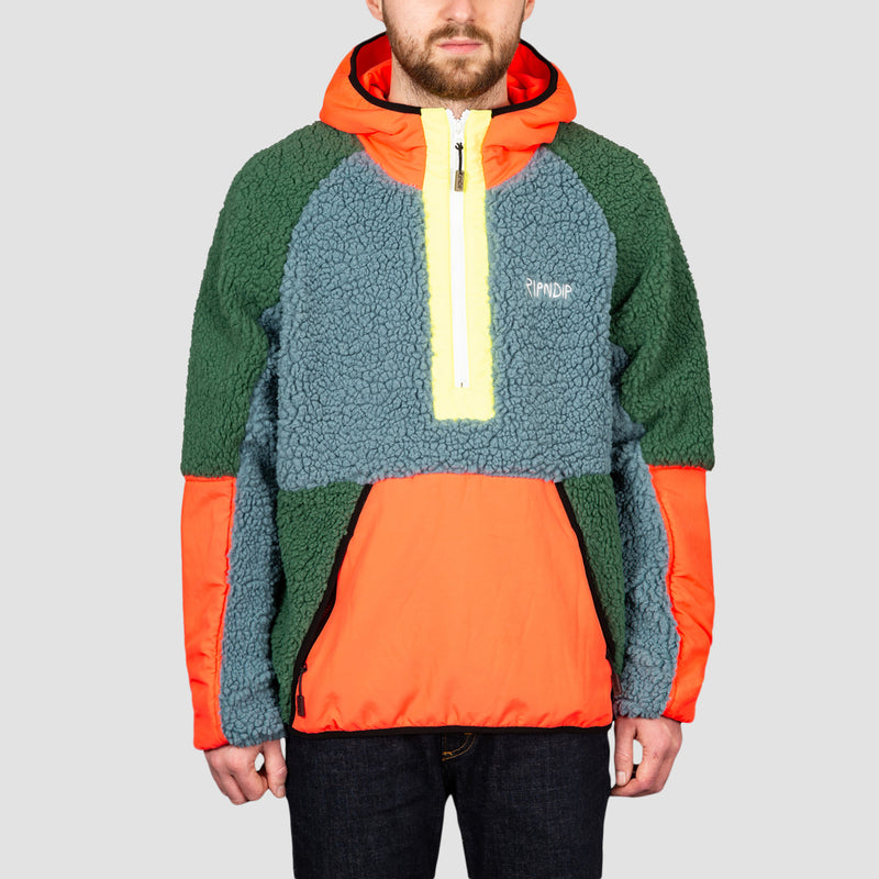 Ripndip Square Up Anorak Jacket Multi